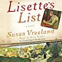 Lisette's List Audiobook by Susan Vreeland Narrated by Kim Bubbs