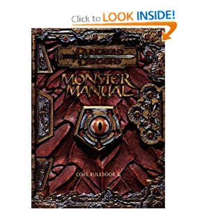 Monster Manual: Core Rulebook III (Dungeons & Dragons) by Monte Cook, Jonathan Tweet and Skip Williams