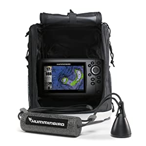 Best fish finder reviews 2016 top rated for the money for Best ice fishing fish finder