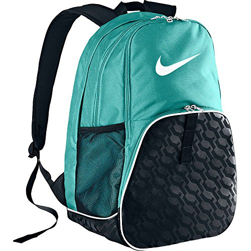 3f24ef2154 Nike Brasilia 6 Teal Black XL Backpack BA4718-417