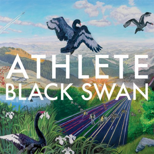 Athlete's Cover for their 4th album, 'Black Swan'