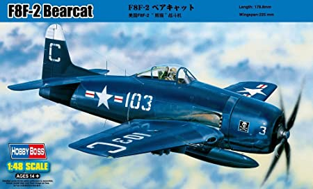 Hobbyboss 1:48 - F8F-2 Bearcat - HBB80358