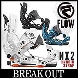15-16 FLOW / フロー NX2 Hybrid Strap メンズ ビンディング バインディング スノーボード