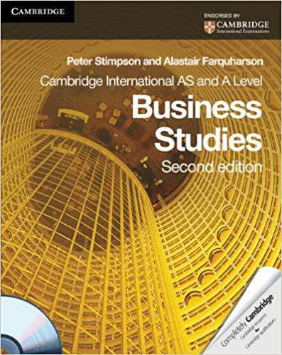 Cambridge International AS and A Level Business Studies Coursebook with CD-ROM 2nd Edition price comparison at Flipkart, Amazon, Crossword, Uread, Bookadda, Landmark, Homeshop18