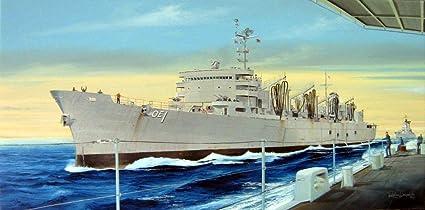 Trumpeter 05785 USS Sacramento 1:700 Plastic Kit Maquette