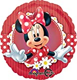 Anagram International Mad About Minnie Foil Balloon Pack, Multicolor