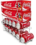Sorbus® Soda Can Beverage Dispenser Rack - Dispenses 12 Standard Size 12oz Soda Cans and Holds Canned Foods