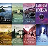 Catherine Cookson Collection 8 Books Set.(Colour Blind, The Upstart, The Obsession, The Branded Man, Kate Hannigan's Girl, A House Divided, Riley and the Desert Crop)