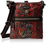 Sakroots Artist Circle Tablet Cross Body Bag,Cherry Spirit Desert,One Size