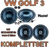 VW-Golf-3-Magnat-Car-Fit-Komplettset-fr-vorne-hinten