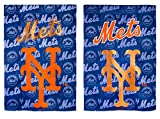 MLB New York Mets Suede Glitter House Flag