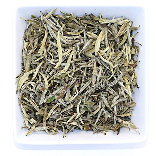 Premium Silver Needle White Tea - Bai Hao Yinzhen, Organic - 4oz / 111g (Organic White Silver Needle compare prices)
