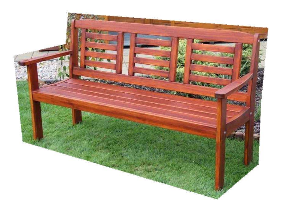 "Massivholz Gartenbank ""Lonus"" , Kiefer , unbehandelt , B 186 cm , Holzstärke : 28 mm jetzt bestellen"