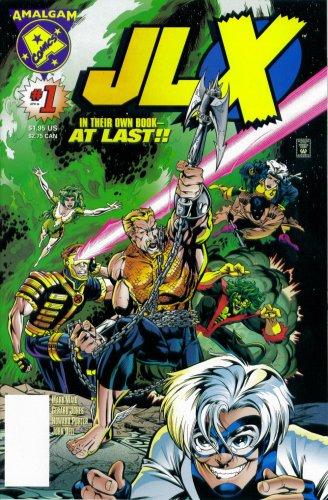 JLX #1 : A League Of Their Own (Marvel - DC Amalgam Comic Book 1996) PDF
