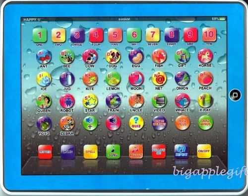 Y-pad English Computer Tablet Learning Education Machine Toy Gift for Kids 3 +