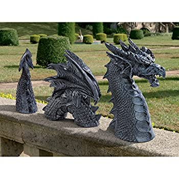 Design Toscano The Dragon of Falkenberg Castle Moat Lawn Statue