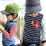 LW Kids Patch Stripe T-shirt, 2 Colours