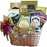 Art of Appreciation Gift Baskets Golden Splendor Gourmet Food and Snacks Gift Set