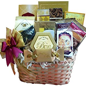 Art of Appreciation Gift Baskets Golden Splendor Gourmet Food Basket