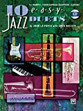 img - for 10 Easy Jazz Duets for Trumpet, Tenor/Soprano Saxophone, Clarinet book / textbook / text book