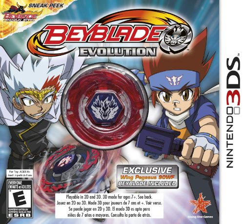 BEYBLADE: Evolution Collector's Edition with Wing Pegasus - Nintendo 3DS - 1