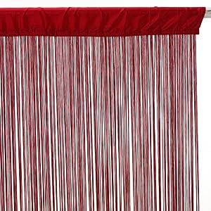 Tenda a fili pronta da appendere 90 x 200 cm colore for Tende a fili per interni