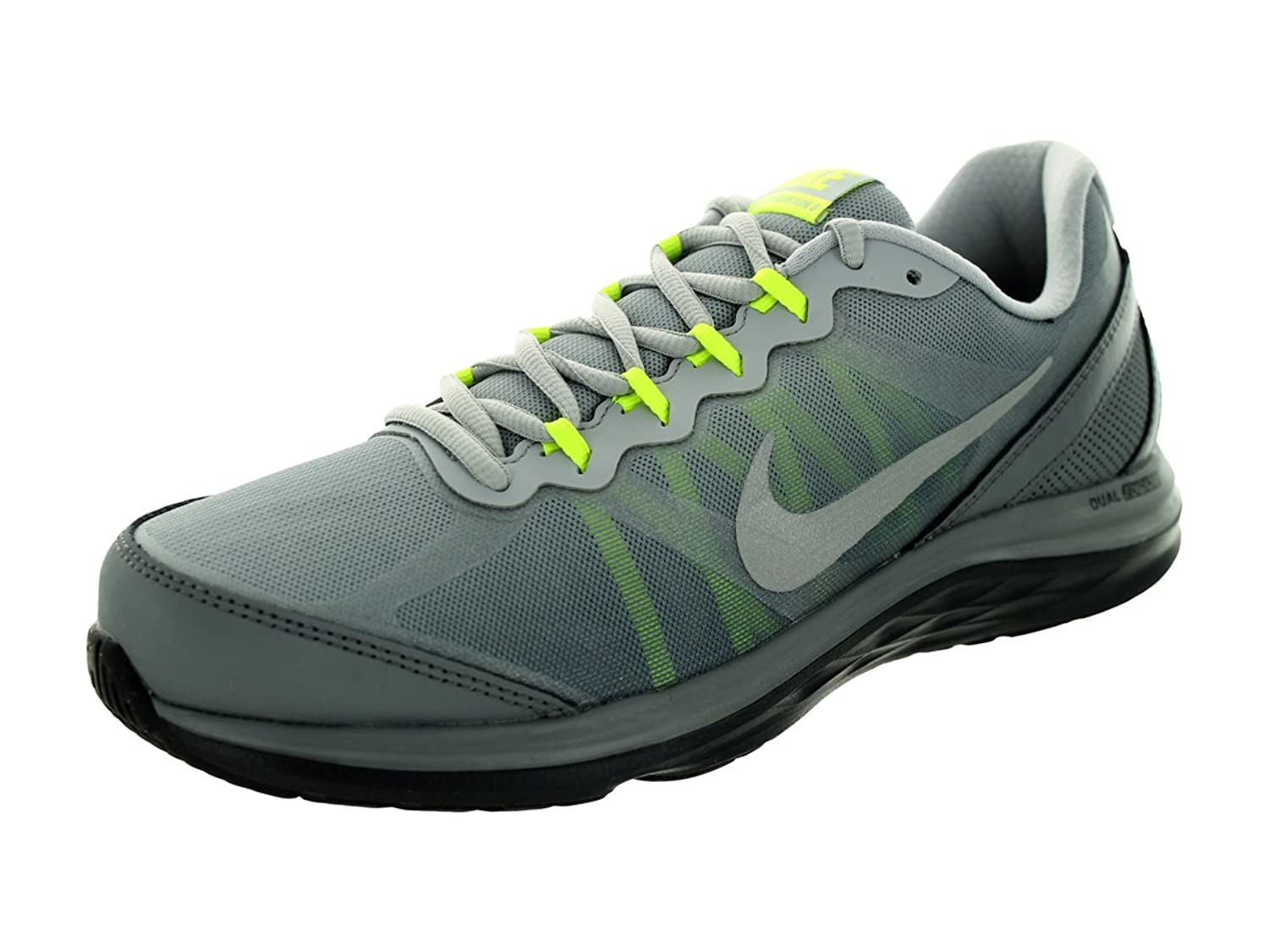 Images for Nike Men's Dual Fusion Run 3 Premium Anthrct/Rflct Slvr/Wlf  Gry/Cl Running Shoe 11 Men US