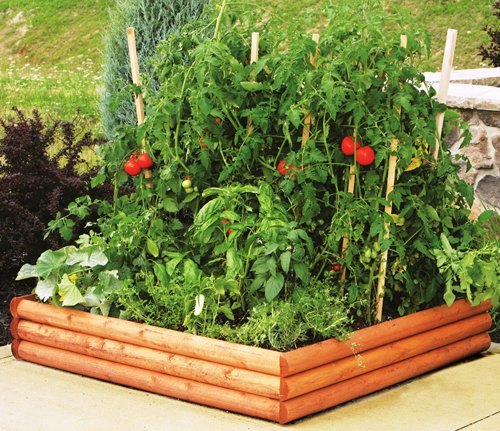 Greenes Raised Garden Bed 4'x4'x9