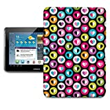 Love Bubbles Tablet Hard Shell Case for iPad, Kindle, Samsung Galaxy, Nexus & more - Samsung Galaxy Tab 2 10.1in P5100