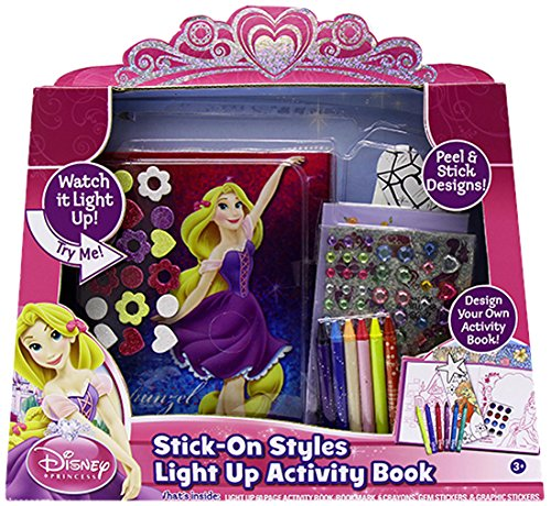 Tara Toy Princess Stick On Styles Light Up Activity Book