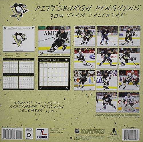 Pittsburgh Penguins 2014 Team Calendar