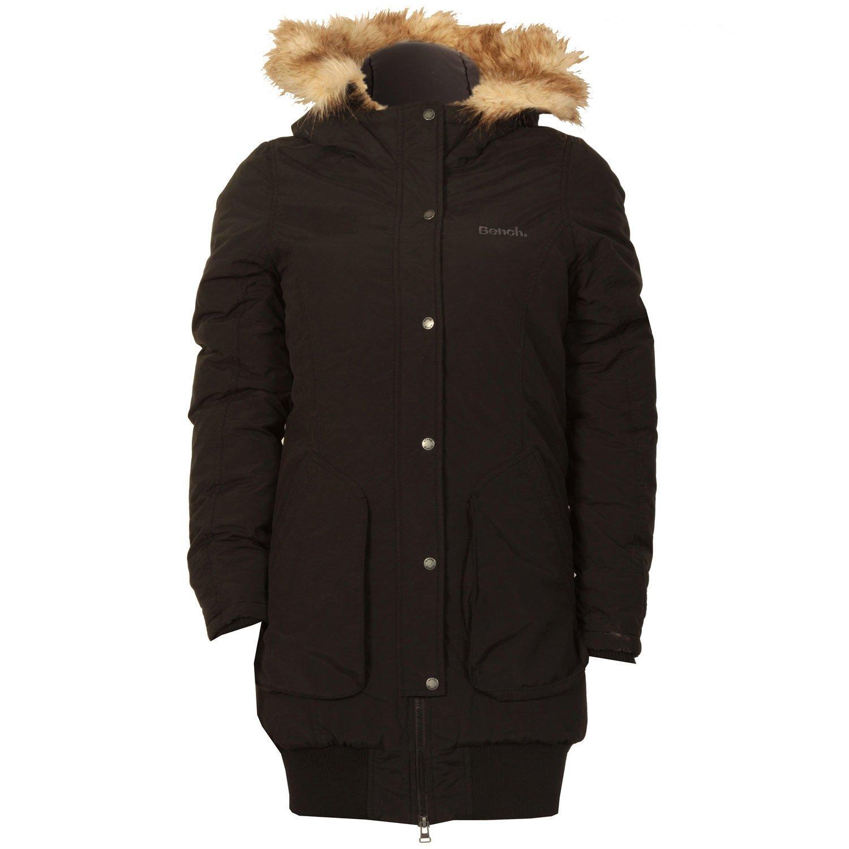 Bench Icefloe Frauen Mantel im schwarz Polyamid online kaufen