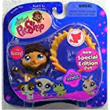 Littlest Pet Shop Assortment 'A' Series 1 Collectible Figure Lion With Flaming Hoop And Crown (Special Edition...