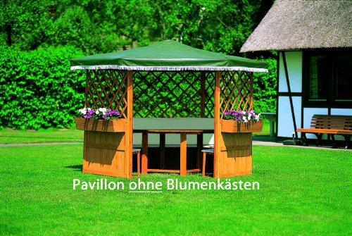 Pavillon Robust Set : Ein schattiges plätzchen im garten der pavillon