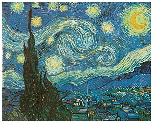 Van Gogh's The Starry Night Painting as Fridge Locker Toolbox Cabinet Magnet (Painting Toolbox compare prices)