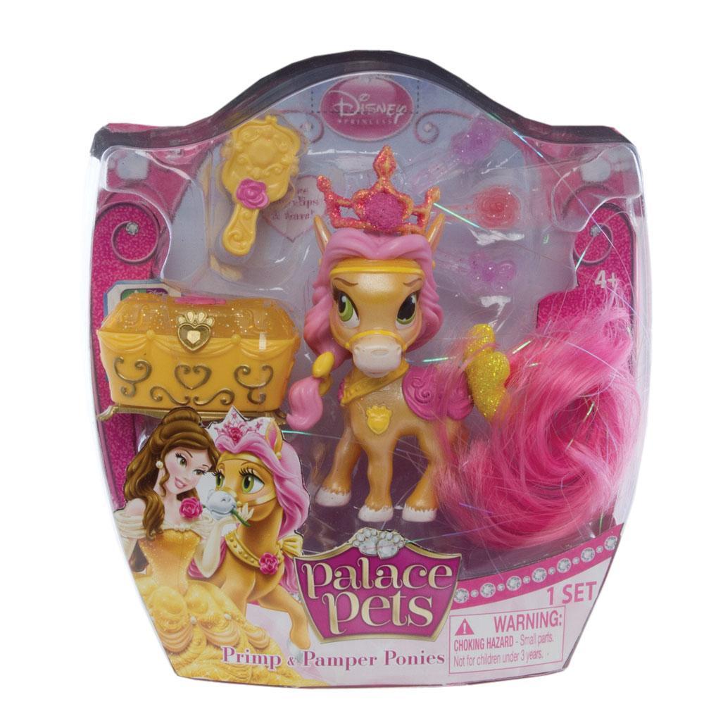 Amazon.com: Disney Princess, Palace Pets, Primp & Pamper Ponies, Belle