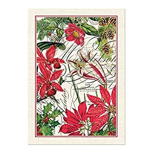 Michel Design Works Holiday Cotton Kitchen Towel Red Home
