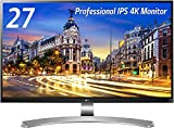 LG 27UD88-W IPSディスプレイ モニター27インチ 4K/USB Type-C/AH-IPS非光沢/HDMI2.0準拠