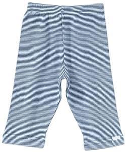 Lana Naturalwear - Leggings a rayas para bebé