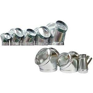 6 Inline Duct Fan 260 Cfm Booster Exhaust Blower Aluminum Blade Air Cooling Ventilation Fans