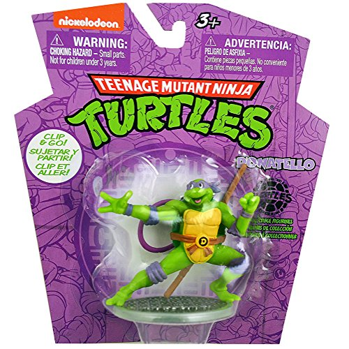 Teenage Mutant Ninja Turtles Clip and Go Donatello Figurine