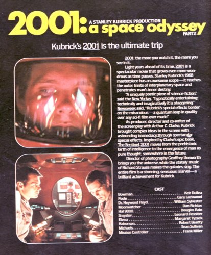 "Read more ""2001 - A Space Odyssey"" CED (Capacitance Electronic Disc) Video Disc - MGM/UA"