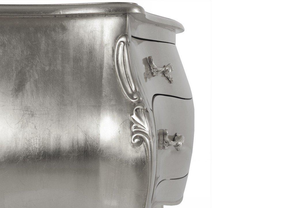 Kommode Pomp Farbe: Silber