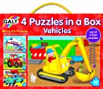 Galt Toys Puzzles in a Box Vehicle -...