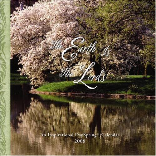Buy The Earth Is The Lord's 2008 Small Wall Calendar