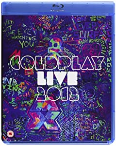 Coldplay Live 2012 [Blu-ray+CD] [Region Free]