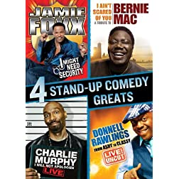 Stand Up Comedy Greats Collection (Bernie Mac / Charlie Murphy / Jamie Foxx / Donnell Rawlings)