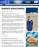 61BEls%2BOE6L. SL160  Kudlows Money Politic$ on National Review Online