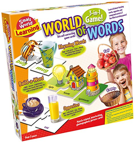 Small World Toys Learning -World of Words Card Game - 1