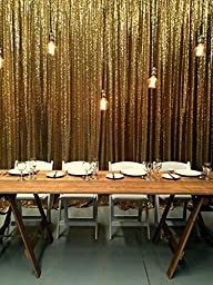 5ft X 7ft Gold Sequin Backdrops, Sequin Photo Booth Backdrop, Party Backdrops,wedding Backdrops, Sparkling Photography